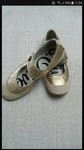 s.Oliver Lage schoenen goud-licht beige