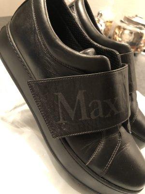 Max Mara Sneakresy na obcasie czarny