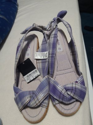 Dockers Platform High-Heeled Sandal beige-purple