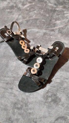 ara Strapped High-Heeled Sandals black