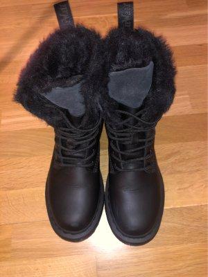 Dr. Martens Futrzane buty czarny