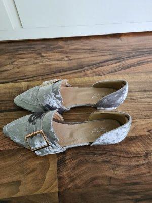 Andrea Conti Zapatos formales sin cordones color plata