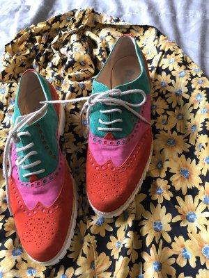 Sznurowane buty Wielokolorowy