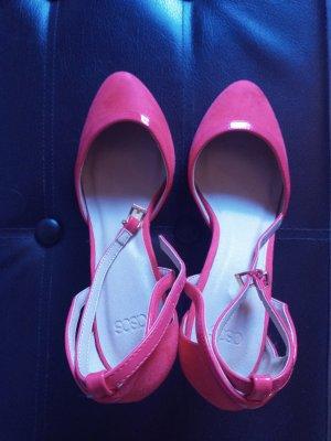 Schuhe Asos Velourleder orange