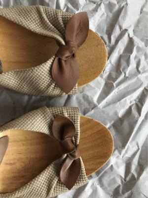Schuhe aus Holz von Pepe Jeans!!