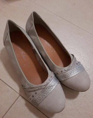 Jane Klein Slip-on Shoes light grey-grey
