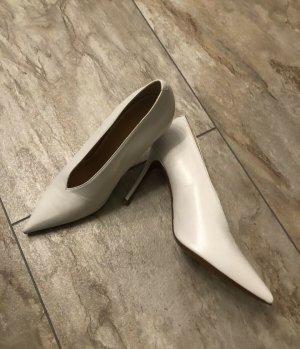 Celine Paris Stiletto blanc