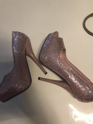Platform Pumps light pink