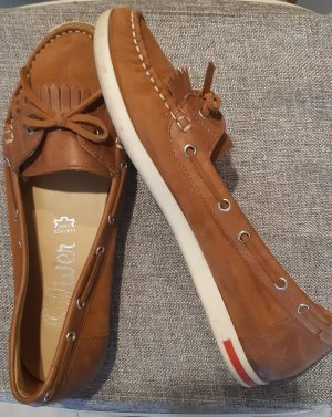 Sir Oliver Sailing Shoes bronze-colored