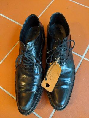 Prada Zapatos Budapest negro