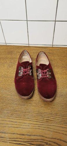 keine Heel Sneakers bordeaux