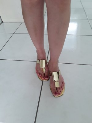 Franco Sarto Dianette Sandals gold-colored