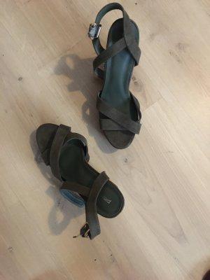 Pimkie Plateauzool sandalen khaki