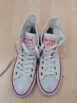 Big Star Lace-Up Sneaker white