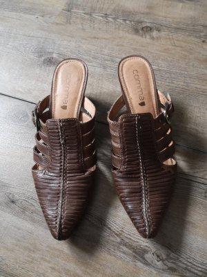 Schuhe braun Gr. 39/40 von comma