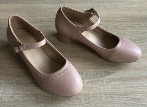 Chaussures Mary Jane vieux rose