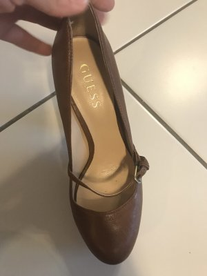 Guess Platform Pumps brown