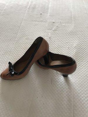 Schuhe Cognac