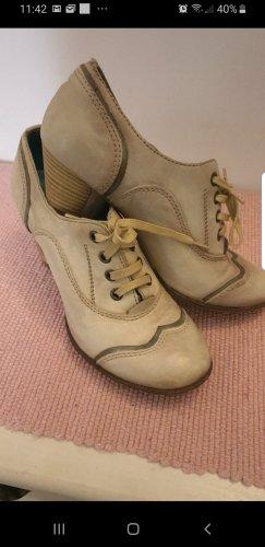 Schuhe, Creme, wie Neu,  37