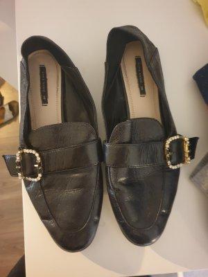 Zara Foldable Ballet Flats black