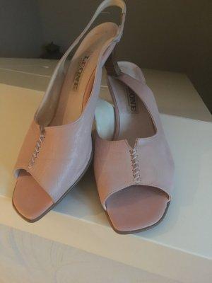 Schuhe der Marke Leone, rosa, Größe 42, Leder