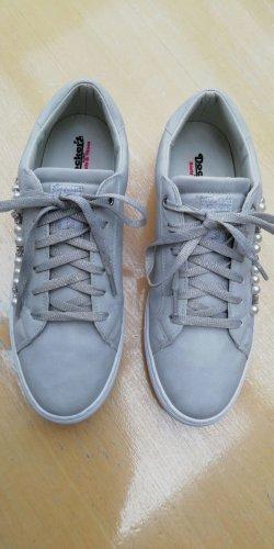Dockers Zapatilla brogue gris claro