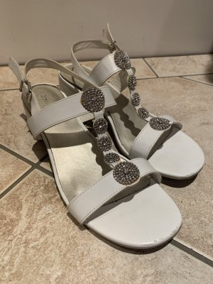Graceland Hoge hakken sandalen wit