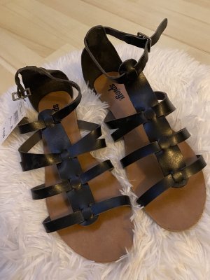 spicy Roman Sandals black
