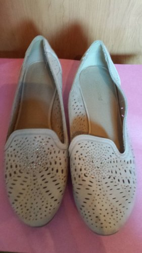 Graceland Zapatos sin cordones beige claro