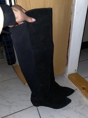 Humanic Cuissarde noir daim