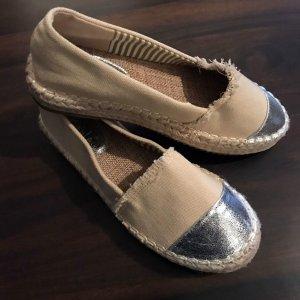 Kayla Espadrillas crema-grigio chiaro