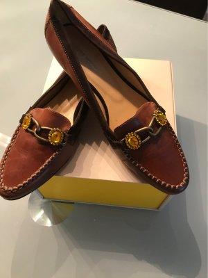 Gerry Weber Slip-on brun-cognac cuir