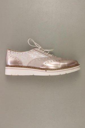Lage schoenen stoffig roze-rosé-lichtroze-roze