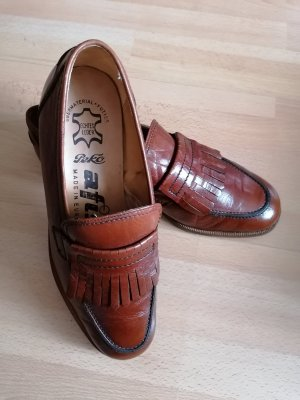 Slip-on Shoes brown-cognac-coloured