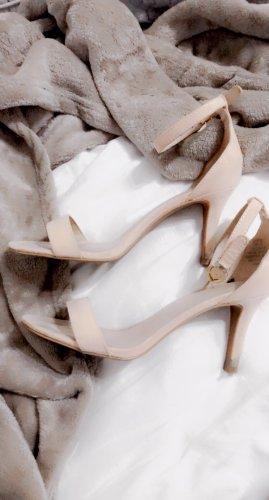 Schuhe Heels High Pumps Hohe Schuhe Sandaletten rose rosa pink gold