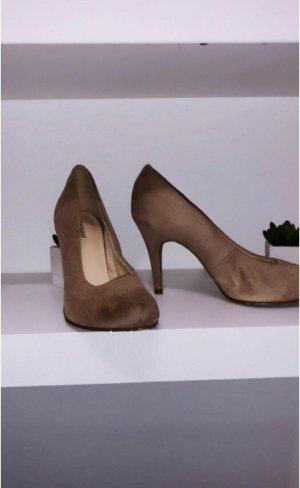 Schuhe heels pink rose rosa h&m pumps