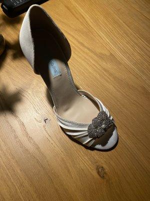 Schuhe heels weiß 38 Brautschuhe Pumps