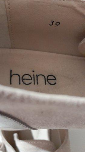 Heine Sneaker con tacco beige-color cammello