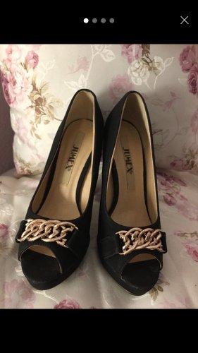 Schuhe High Heels Pumps Absatz Abend schwarz 37 NEU