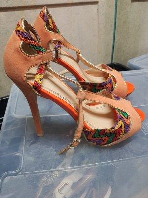 Schuhe High Heels Pumps, Rocksandalen neu Gr. 37/38