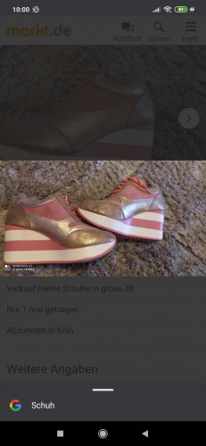 Heel Sneakers light pink