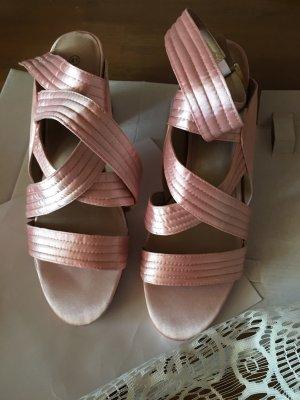 Heine Plateauzool sandalen veelkleurig