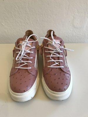 Schuhe in Straußenlegeroptik von Giuseppe Zanotti, Gr.41, neuwertig, LETZTE REDUZIERUNG!!!