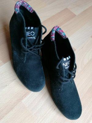 Schuhe, Keilabsatz, Adidas neo