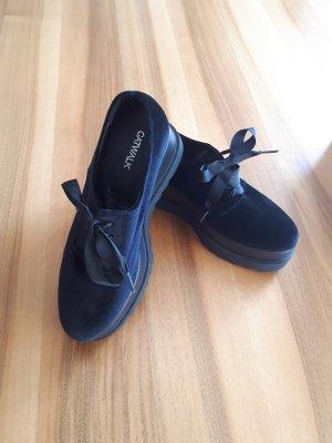 Catwalk Lace Shoes black velvet