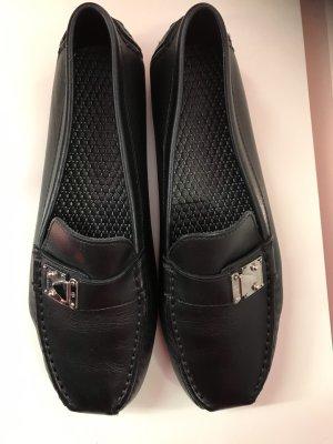 Louis Vuitton Mocassino nero-argento