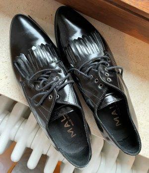 lavoarzione artigianale Pantofola nero