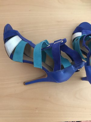 Cosmoparis Sandalo con cinturino multicolore Pelle
