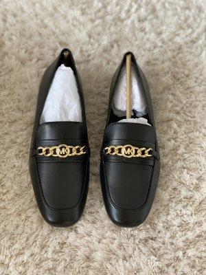 Michael Kors Moccasins black leather