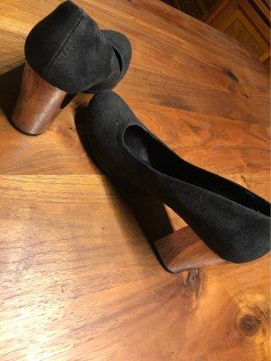 Schuhe mit 8 cm Absatz